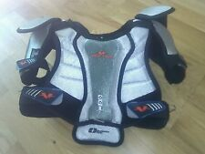 ccm ice roller hockey chest back shoulder pads jr