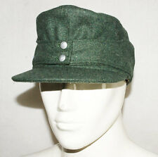 WWII GERMAN WH EM M43 PANZER WOOL FIELD CAP XL -31733