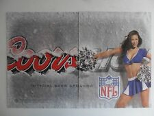 2005 Print Ad Coors Beer ~ Sexy Football Cheerleader