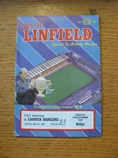 07/03/1987 Linfield v Carrick Rangers [Northern Ireland Gold Cup] . No obvious f