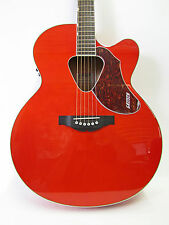 Gretsch G5022CE Jumbo Rancher Acoustic Electric Orange Guitar Fishman Pickup New