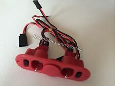 RC Plane/Aircraft - Heavy Duty Twin RX Switch with Charge Port & Fuel Dot - Red