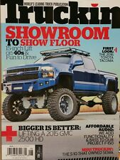 Truckin 2016 Toyota Tacoma Lifts Bass Mini Trucks Tires June 2015 FREE SHIPPING