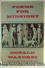 Poems For Midnight by Donald Wandrei (Signed)