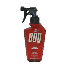 Bod Man Most Wanted For Men By Parfums De Coeur Fragrance Body Spray 8.0 oz