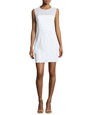 NWT Diane von Furstenberg DVF NISHA White Lace & Sheer Silk Dress Size 10 $365