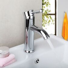 Bathroom Faucet Spray Mixer Basin Sink Taps in Chrome Zinc Alloy SC8340