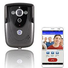 Waterproof Wireless Smart Wifi HD Video Door Phone Doorbell Intercom Kit GSM New