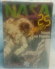 NASA 25 Years of Glory Used 5 VHS Set Challenger Space Videos Astronauts USA1997