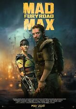 POSTER MAD MAX FURY ROAD CHARLIZE THERON TOM HARDY FURIOSA INTERCEPTOR FOTO #2