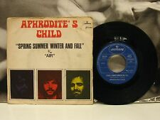 """APHRODITE'S CHILD - SPRING SUMMER WINTER AND FALL / AIR 45 GIRI 7"""" G+/VG- 1970"""