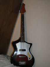 ELECTRIC GUITAR MADE IN JAPAN TIESCO? OLD HEAVY WORN AND READY TO USE LOOK HERE