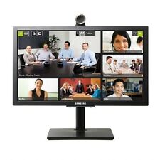 """Samsung VC240 24"""" Videoconferece LCD Monitor with Camera and Speakers SHIP FREE"""