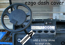 Ezgo Golf Cart ++ Highly Polished ++ Diamond Plate  Dash Cover!!!