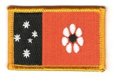 NORTHERN TERRITORY DARWIN AUSTRALIA FLAG PATCH BADGE IRON ON NEW EMBROIDERED