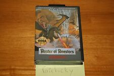 Master of Monsters (Sega Genesis) - NEW SEALED US VERSION, SUPER RARE STRATEGY!
