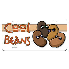Cool Beans - Funny Novelty Metal Vanity License Tag Plate