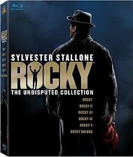 Rocky Undisputed Collection 1 2 3 4 5 Balboa Blu-ray Set Series TV Show Stallone