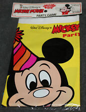 VINTAGE WALT DISNEY'S MICKEY MOUSE PARTY GAME BY CAROUSEL PARTY FAVORS