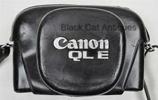 Original Canon QL E Camera Case in Leather Made in Japan Rare Canonet