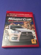 Midnight Club Los Angeles *Complete Edition* for PS3  NEW