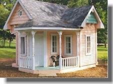 D.i.y shed, log cabin, été, play house, grange garage plans & boiseries cd