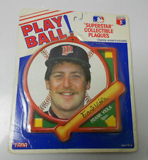 Tara Toys PLAY BALL Collectible Plaques FRANK VIOLA Twins MOC Mint on Card