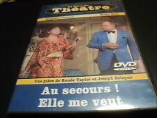 """DVD """"AU SECOURS ELLE ME VEUT"""" Genevieve FONTANEL, Michel ROUX / theatre"""