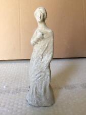 Riproduzione statua TERRACOTTA 20 cm ST60 scultura greco romano antica LEKYTHOS