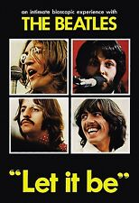 The Beatles Let it Be 1970 DVD