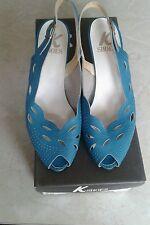 Señoras Zapatos Cuero Shandy K Talla 4.5 C En Caja, Excelente Estado!!!