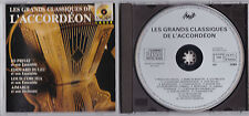 LES GRANDS CLASSIQUES DE L'ACCORDEON CD VOGUE 1988 JO PRIVAT/DULEU/CORCHIA.....