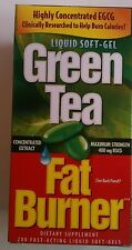 Green Tea Fat Burner 400mg EGCG Quick Weight Loss Pills 200 Liquid softgel