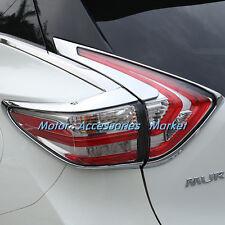 New Chrome Rear Light Cover Trim For Nissan Murano 2015 2016 2017