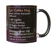 Epic coffee mug MMO LEGENDARY item fan Tasse cup tea coffee gaming Funny gift