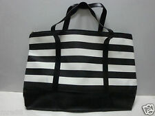 MRE * Black and White Shoulder / Shopping Bag