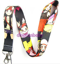 10Pcs animation and cartoon Gril Mobile Phone lanyard Keychain Strap Charms K24