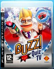 BUZZ QUIZ TV +  4 WIRELESS BUZZERS + DONGLE PS3