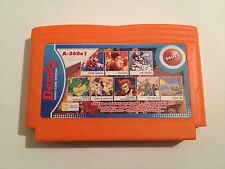 Collection of games Cartridge for Famicom, Nes Dendy, Subor, Famiclone 360 in 1