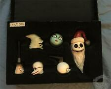 NIGHTMARE BEFORE CHRISTMAS 6 PIECE PORCELAIN HEAD SET A - LIMITED TO 1500