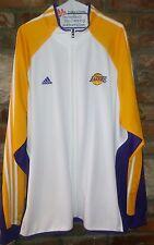 Adidas Los angeles lakers warm up jacket 3xl white,yellow,purple.