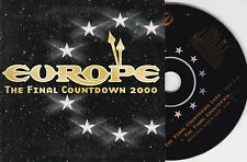 CD CARTONNE CARDSLEEVE EUROPE THE FINAL COUNTDOWN 2000 + V.O. 2T 1999