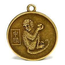 "YEAR of the MONKEY GOOD LUCK CHARM 1"" Chinese Zodiac HIGH QUALITY Horoscope"