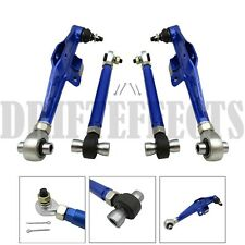 BLUE FITS 95-98 240SX S14 S15 FRONT LOWER CONTROL ARM HIGH ANGLE HA TENSION ROD