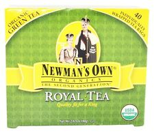 Newman's Own Organics - Organic Royal Green Tea - 40 Tea Bags