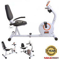 Recumbent 4kg Magnetic Wheel Resistance Exercise Bike Cardio Fitness Gym Workout