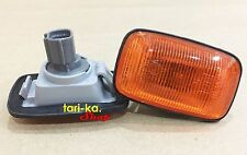 Pair Side Marker Turn Signal Lights For Toyota Hilux 4Runner LN145 LN166 Pickup
