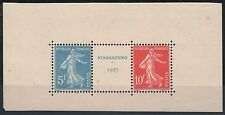 "FRANCE STAMP TIMBRE 242A "" SEMEUSE EXPOSITION STRASBOURG 1927 ""NEUFS xx TTB M387"