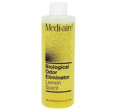 Bard Medi-Aire Biological Odor Eliminator: Lemon Scent - 8oz Refill - One Bottle
