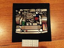 Body RC Rotary B13 Engine Bay Polycarbonate Painted 1:10 Drift